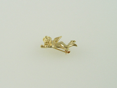 14KT Y/G Angel Pin 4.2gr
