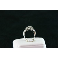 14KT White Gold Princess Cut & Triangle Diamonds 4.00ct-Radiant Cut Diamond 1.25ct