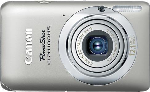 Canon PowerShot ELPH 100 HS 12.1-Megapixel Digital Camera - Silver