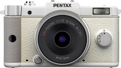 PENTAX Q 12.4-Megapixel Digital Camera - White