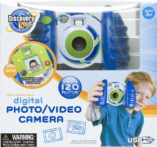 Discovery Kids Digital Camera - Blue