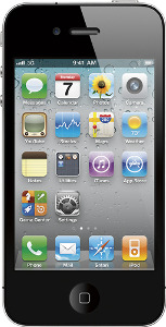 Appleå¨ iPhone 4 with 16GB Memory - Black