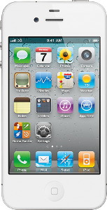Appleå¨ iPhone 4 with 16GB Memory - White