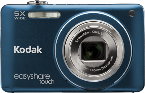 Kodak EasyShare Touch M5370 16.0-Megapixel Digital Camera - Blue