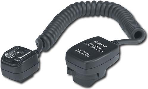 Canon OC-E3 Off-Camera Shoe Cord for Most Canon EOS Digital Cameras