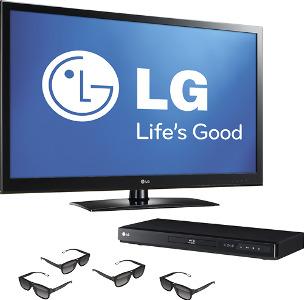 """LG 42"""" Class / LED / 1080p / 120Hz / 3D / HDTV"""