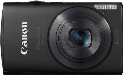 CANON PowerShot ELPH 310 HS 12.1-Megapixel Digital Camera - Black