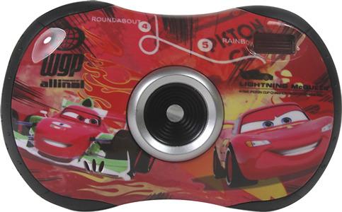 Disney Cars 2.1-Megapixel Digital Camera - Red