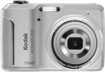 Kodak EasyShare C1550 16.0-Megapixel Digital Camera - Silver