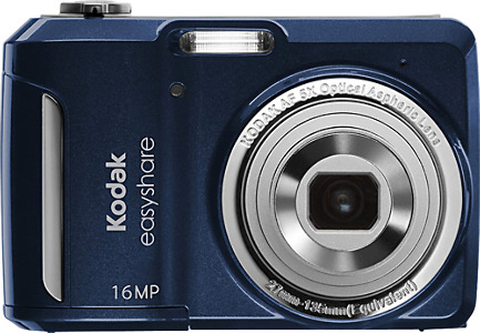 Kodak EasyShare C1550 16.0-Megapixel Digital Camera - Blue