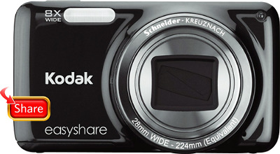 Kodak EasyShare M583 14.0-Megapixel Digital Camera - Black