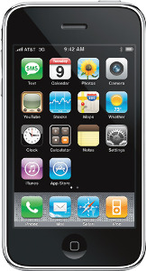 Appleå¨ iPhone 3GS with 8GB Memory - Black