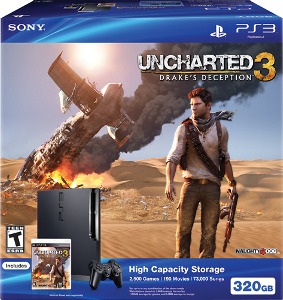 Sony PlayStation 3 (320GB) Uncharted 3 Bundle