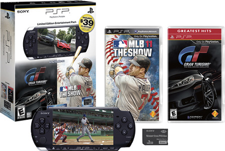 Sony Computer Entertainment of America PSP-3000 Bundle with MLB 11: The Show and Gran Turismo