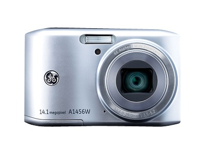 GE Smart Series A1456W Digital Camera - Silver