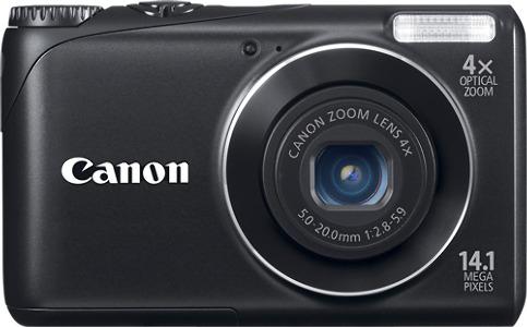 Canon PowerShot A2200 14.1-Megapixel Digital Camera - Black