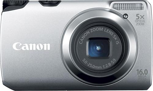 Canon PowerShot A3300 IS 16.0-Megapixel Digital Camera - Silver