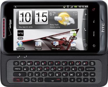 HTC Merge Mobile Phone - Black