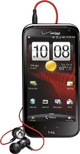 HTC Rezound 4G Mobile Phone - Black