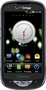 Pantech Breakout 4G Mobile Phone - Black