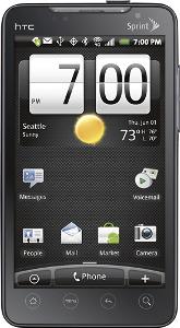 HTC EVO 4G Mobile Phone - Black