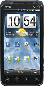 HTC EVO 3D Mobile Phone - Black