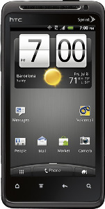 HTC Evo Design 4G Mobile Phone - Black