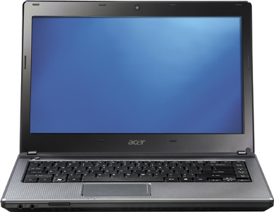 "Acer Aspire Laptop / AMD A-Series Processor / 15.6"" Display / 4GB Memory - Mesh Black"