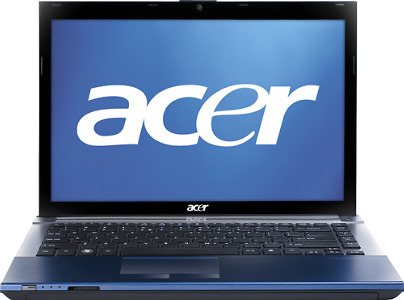 "Acer Aspire Laptop / Intelå¨ Core™ i3 Processor / 13.3"" Display / 4GB Memory - Cobalt Blue"