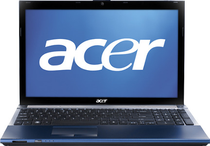 "Acer Aspire Laptop / Intelå¨ Core™ i5 Processor / 15.6"" Display / 4GB Memory - Glossy Black"