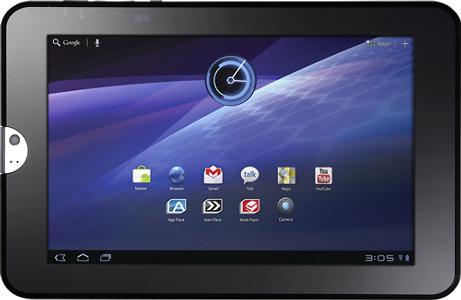 Toshiba Thrive Tablet with 16GB Hard Drive - Black Tie
