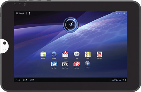 Toshiba Thrive Tablet with 8GB Hard Drive - Black Tie