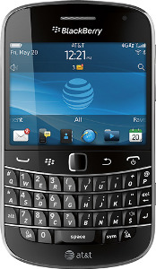 BlackBerry Bold 4G Mobile Phone with Camera and Free Dock - Black