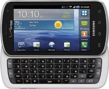 Samsung Stratosphere 4G Mobile Phone - White