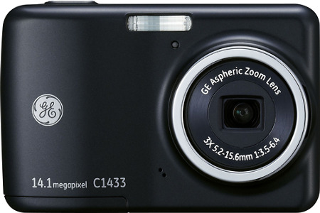GE Smart Series C1433 14.1-Megapixel Digital Camera - Black