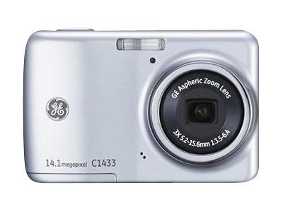 GE C1433 14.1-Megapixel Digital Camera - Silver