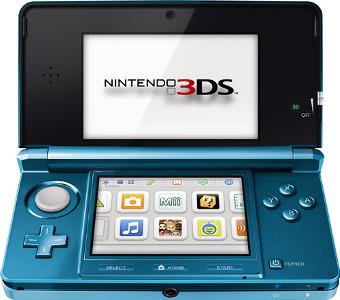 Nintendo Nintendo 3DS - Aqua Blue