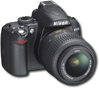 Nikon 10.2-Megapixel D3000 Digital SLR Camera - Black