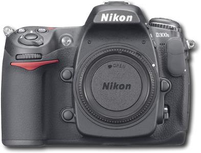 Nikon 12.3-Megapixel D300s Digital SLR Camera - Black