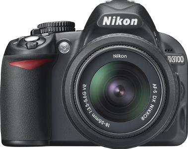 Nikon D3100 14.2-Megapixel Digital SLR Camera - Black