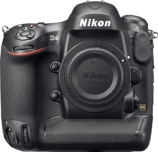 NIKON D4 16.2-Megapixel Digital SLR Camera (Body Only) - Black