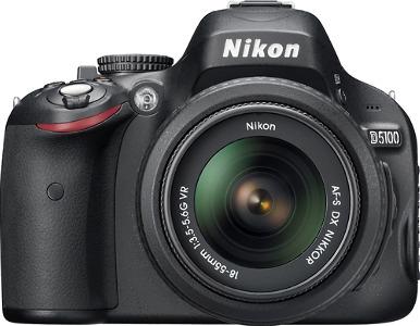 Nikon D5100 16.2-Megapixel DSLR Camera with 18-55mm VR Lens - Black