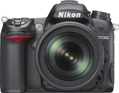 Nikon D7000 16.2-Megapixel Digital SLR Camera Kit - Black