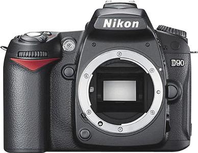 Nikon 12.3-Megapixel Digital SLR Camera - Black
