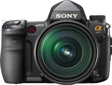 Sony Alpha 24.6-Megapixel Digital SLR Camera - Black
