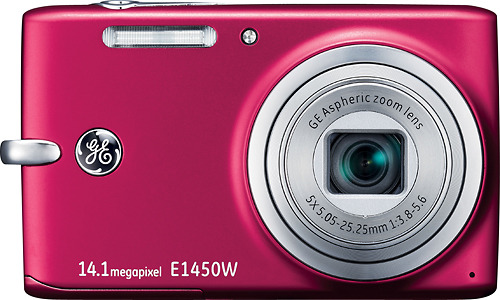 GE E1450W 14.1-Megapixel Digital Camera