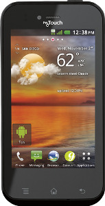 LG myTouch T 4G Mobile Phone - Black