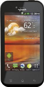 LG myTouch T 4G Mobile Phone - Black
