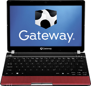 "Gateway Laptop / Intel® Pentium® Processor / 11.6"" Display / 3GB Memory - Red"