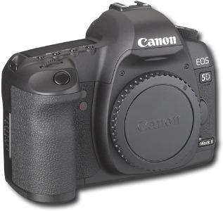Canon EOS 5D Mark II 21.1-Megapixel Digital SLR Camera - Black